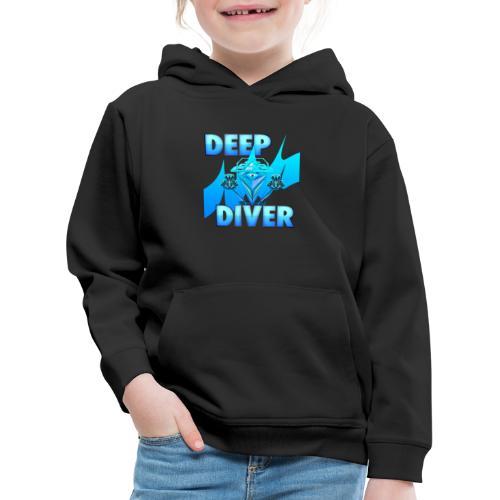 Deep Diver, Ocean Diamond. - Kids' Premium Hoodie