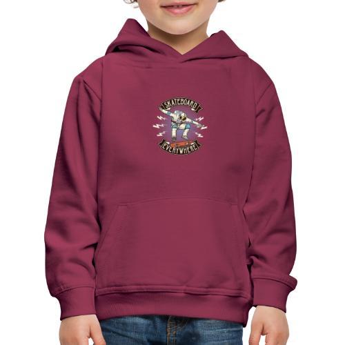 OuterSpaceFont 5 - Felpa con cappuccio Premium per bambini