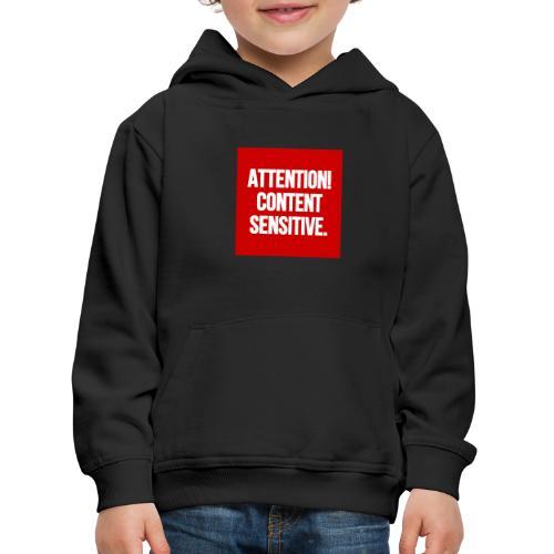 Attention! Content sensitive. - Kinder Premium Hoodie