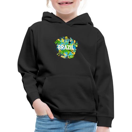 Encontro Brasil - Kids' Premium Hoodie