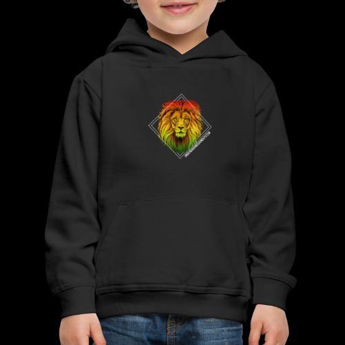 LION HEAD - UNDERGROUNDSOUNDSYSTEM - Kinder Premium Hoodie