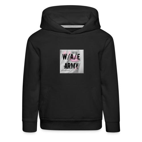 W/A/E ARMY GIRLY - Lasten premium huppari