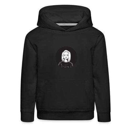 Love - Bluza dziecięca z kapturem Premium