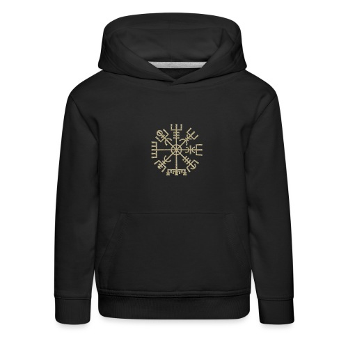Vegvisir-The-Runic-Viking or - Pull à capuche Premium Enfant