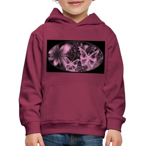 Your-Child flower - Premium hættetrøje til børn