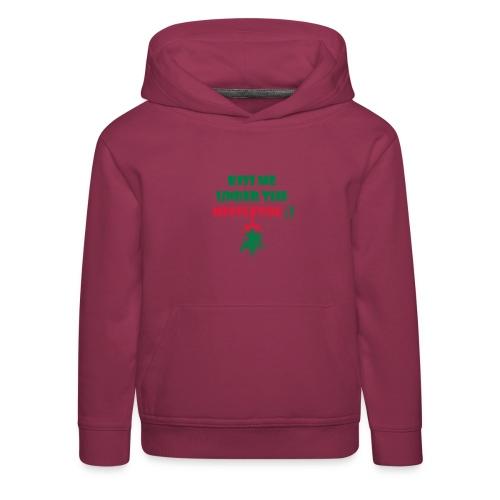 mistletoe - Kinder Premium Hoodie