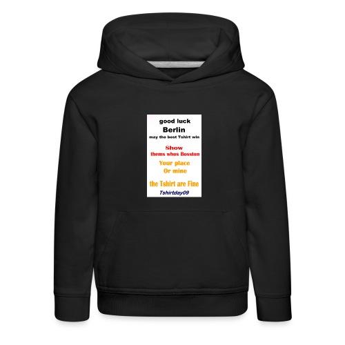INTERNATIONAL09 - Kids' Premium Hoodie