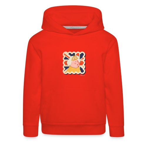 The Queen - Kids' Premium Hoodie