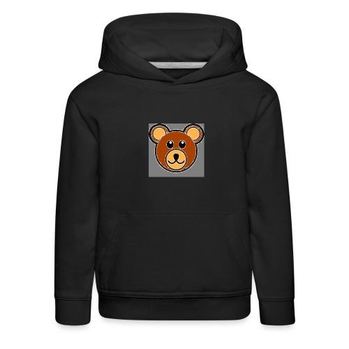 ourson bébé - Pull à capuche Premium Enfant