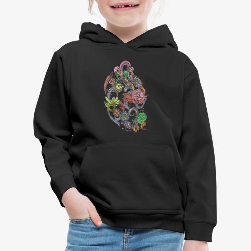 Flower Power - Rough - Premium-Luvtröja barn