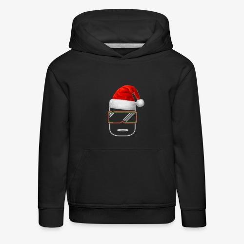Die Zock Stube - Robot-Head Christmas - Kinder Premium Hoodie