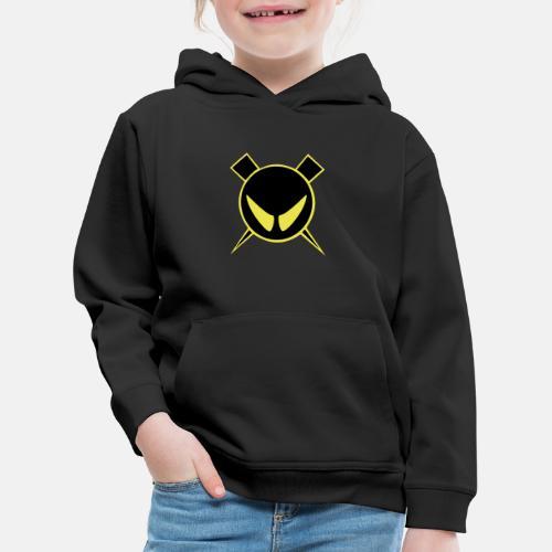Pienempi logo Muista vaihtaa väri mustaksi - Lasten premium huppari