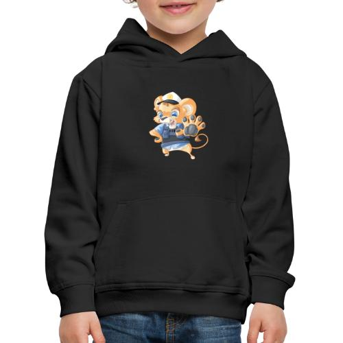 Polizei Löwe - Kinder Premium Hoodie