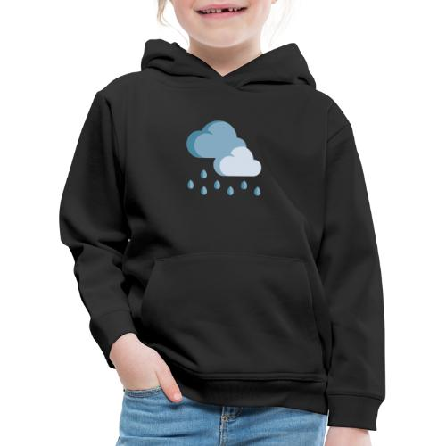 lluvia - Sudadera con capucha premium niño