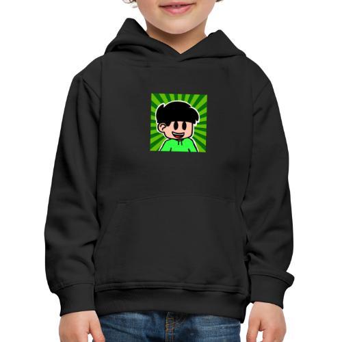 En Glad Linus - Premium-Luvtröja barn