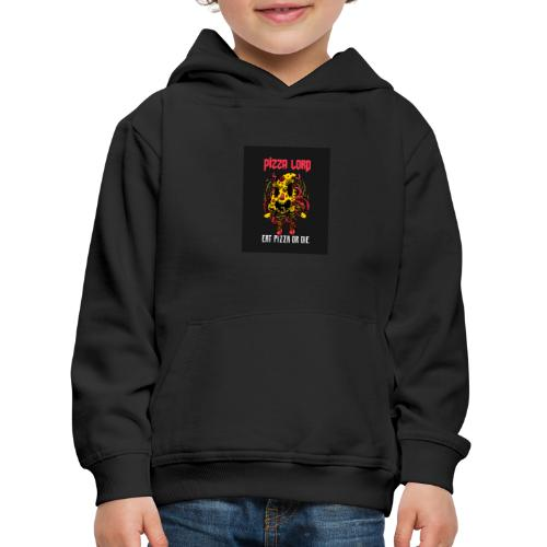 Pizza lord eat pizza or die - Kids' Premium Hoodie