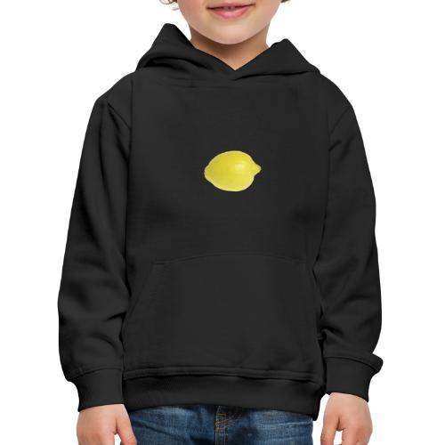 Zitrone - Kinder Premium Hoodie