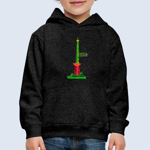 Funkturm / BerlinLightShow / PopArt Style - Kinder Premium Hoodie