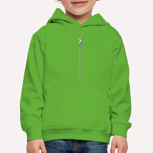 Zipper Funny Surprising T-shirt, Hoodie,Cap Print - Kids' Premium Hoodie