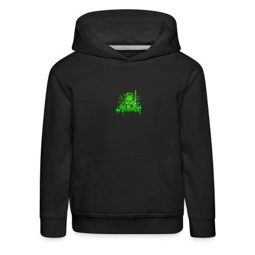 GFSkullOnlyColorShirt - Kids' Premium Hoodie