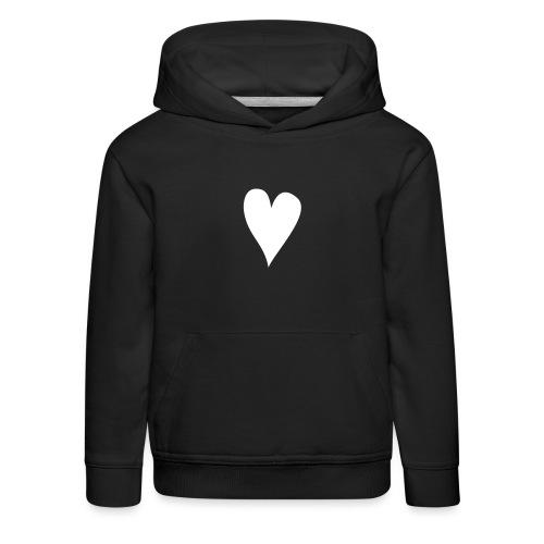 herz - Kinder Premium Hoodie