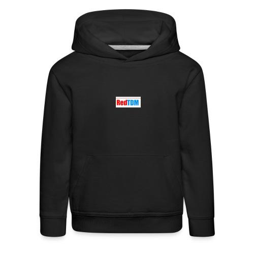 RedRed TDMBlue - Kids' Premium Hoodie
