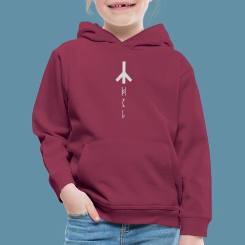 Logo Hel 02 copia png - Felpa con cappuccio Premium per bambini