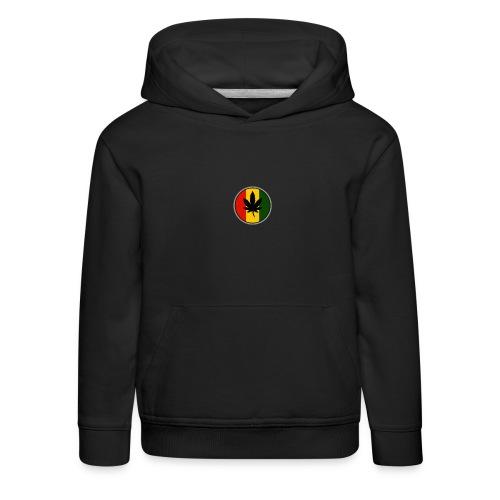 weed logo - Premium hættetrøje til børn