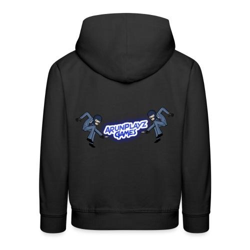ArunPlayzGames Banner - Kids' Premium Hoodie