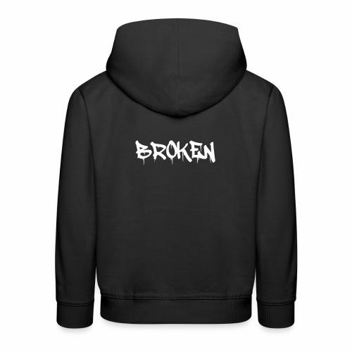 Broken Design - Kids' Premium Hoodie