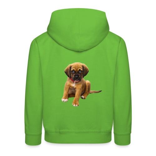 Süsses Haustier Welpe - Kinder Premium Hoodie