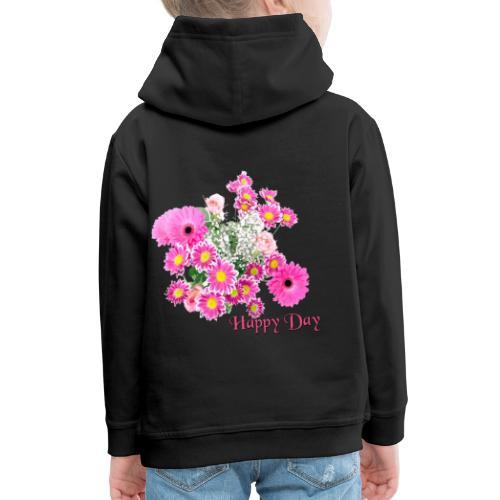 Happy Day Blumen - Kinder Premium Hoodie
