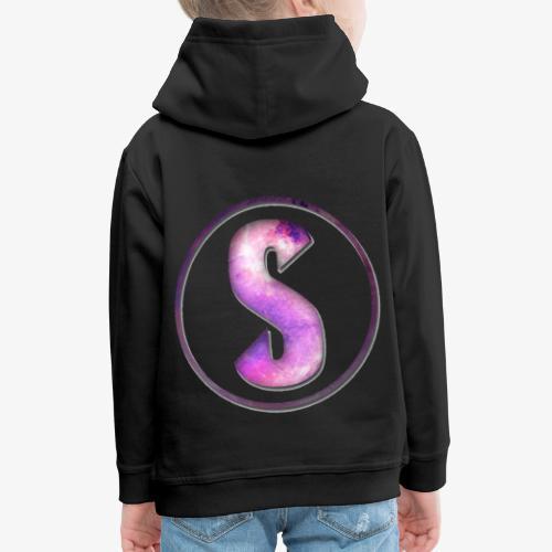 YouTube Logo von Salxphaa - Kinder Premium Hoodie