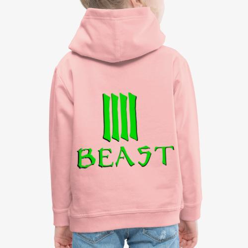 Beast Green - Kids' Premium Hoodie