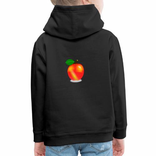 Apfel - Kinder Premium Hoodie
