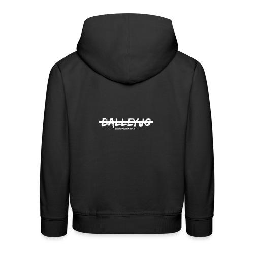 Balleyjo Logo white - Kinder Premium Hoodie