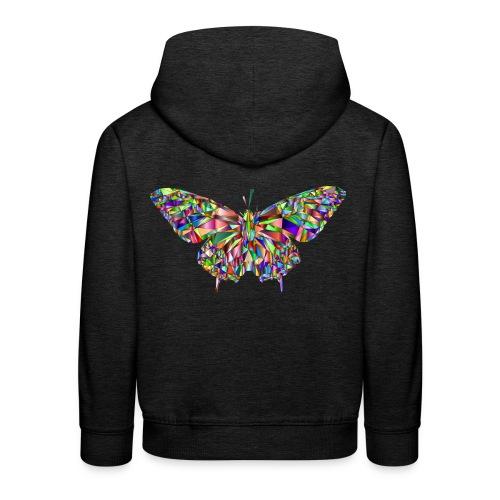 Geflogener Schmetterling - Kinder Premium Hoodie