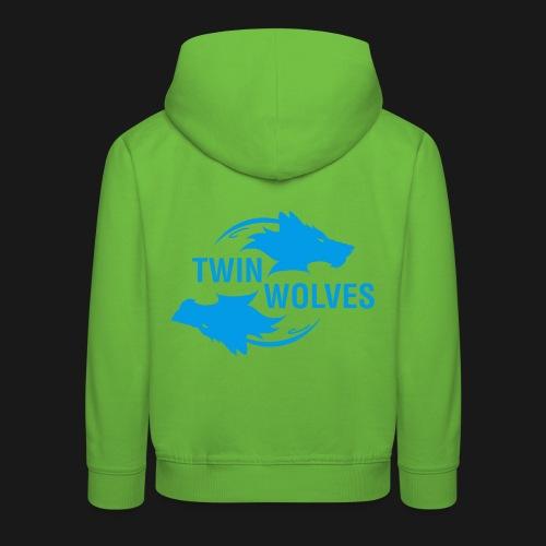 Twin Wolves Studio - Felpa con cappuccio Premium per bambini