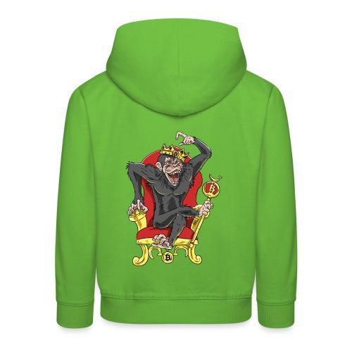Bitcoin Monkey King - Beta Edition - Kinder Premium Hoodie