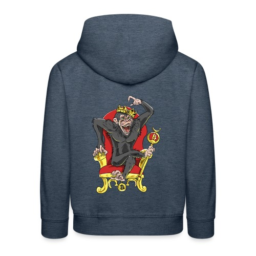Bitcoin Monkey King - Beta Edition - Kinder Premium Hoodie