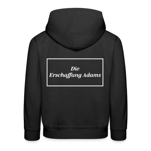 Die Erschaffung Adams - Kinder Premium Hoodie