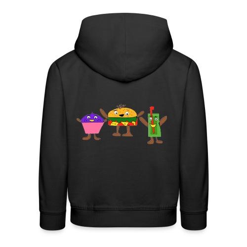 Fast food figures - Kids' Premium Hoodie