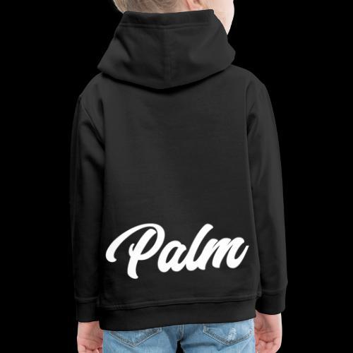 Palm Exclusive White - Premium hættetrøje til børn