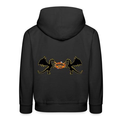 Styler Draken Design - Kinderen trui Premium met capuchon