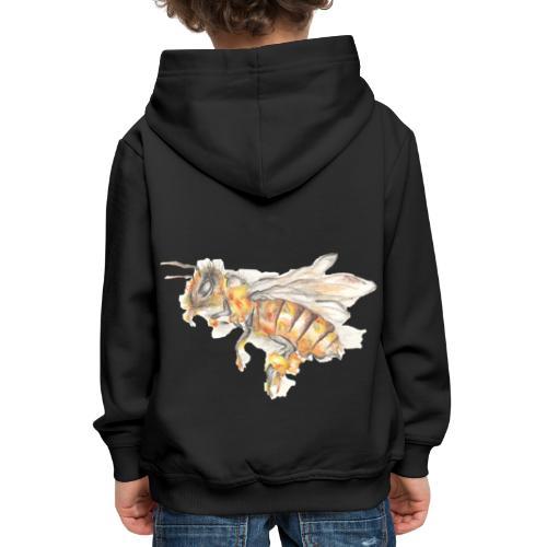 MG002 Bee | Honey | Save the Bees | Books bee - Kids' Premium Hoodie