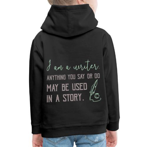 0267 History | Author | Writer | story - Kids' Premium Hoodie