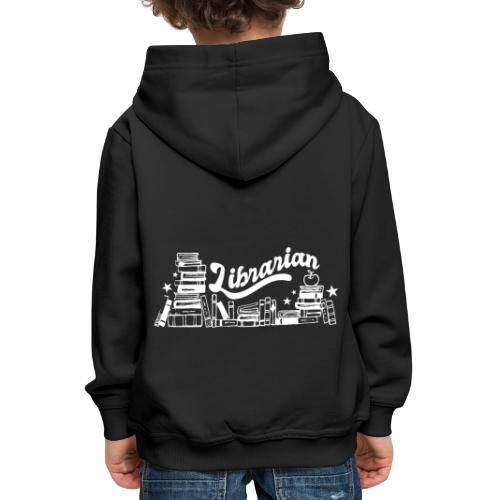 0323 Funny design Librarian Librarian - Kids' Premium Hoodie