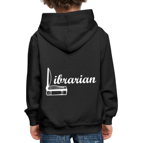0325 Librarian Librarian Cool design - Kids' Premium Hoodie
