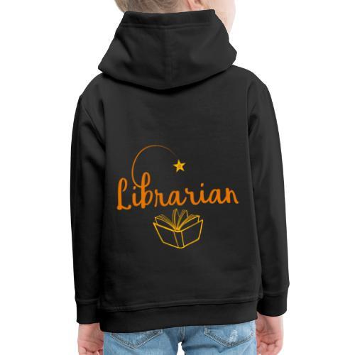 0327 Librarian Librarian Library Book - Kids' Premium Hoodie