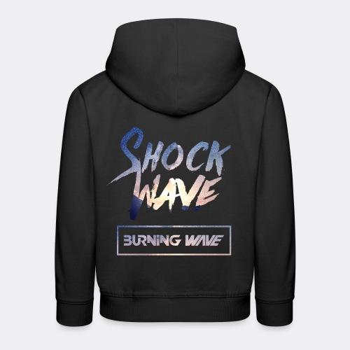 Burning Wave - Shock Wave - Pull à capuche Premium Enfant